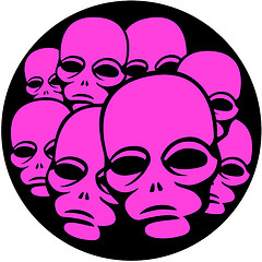 Alien Faces Vector Image by Vectorportal, on Flickr